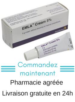 Acheter votre crème anesthésiante sans ordonnance préalable