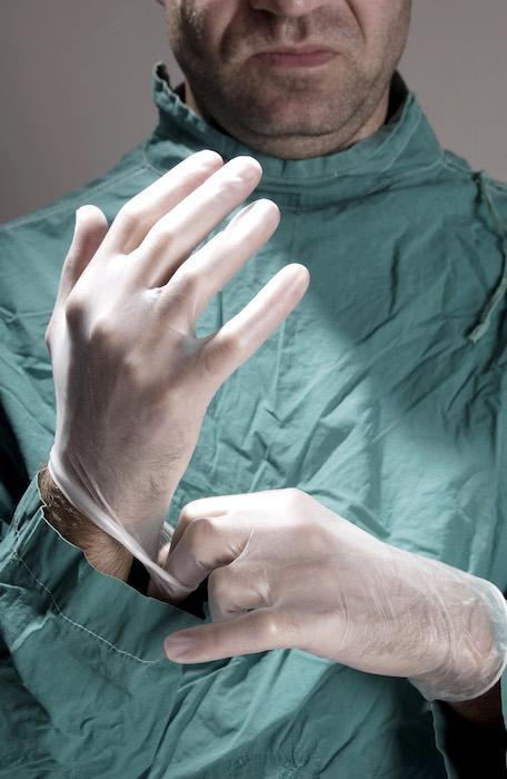 blue gel anesthésiant